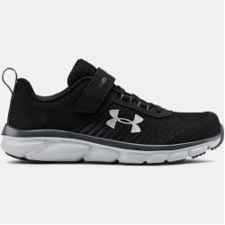 Photo of Under Armor Pre-School Ua Assert 8 Ac Running Shoes Black 33.5 Under Armor