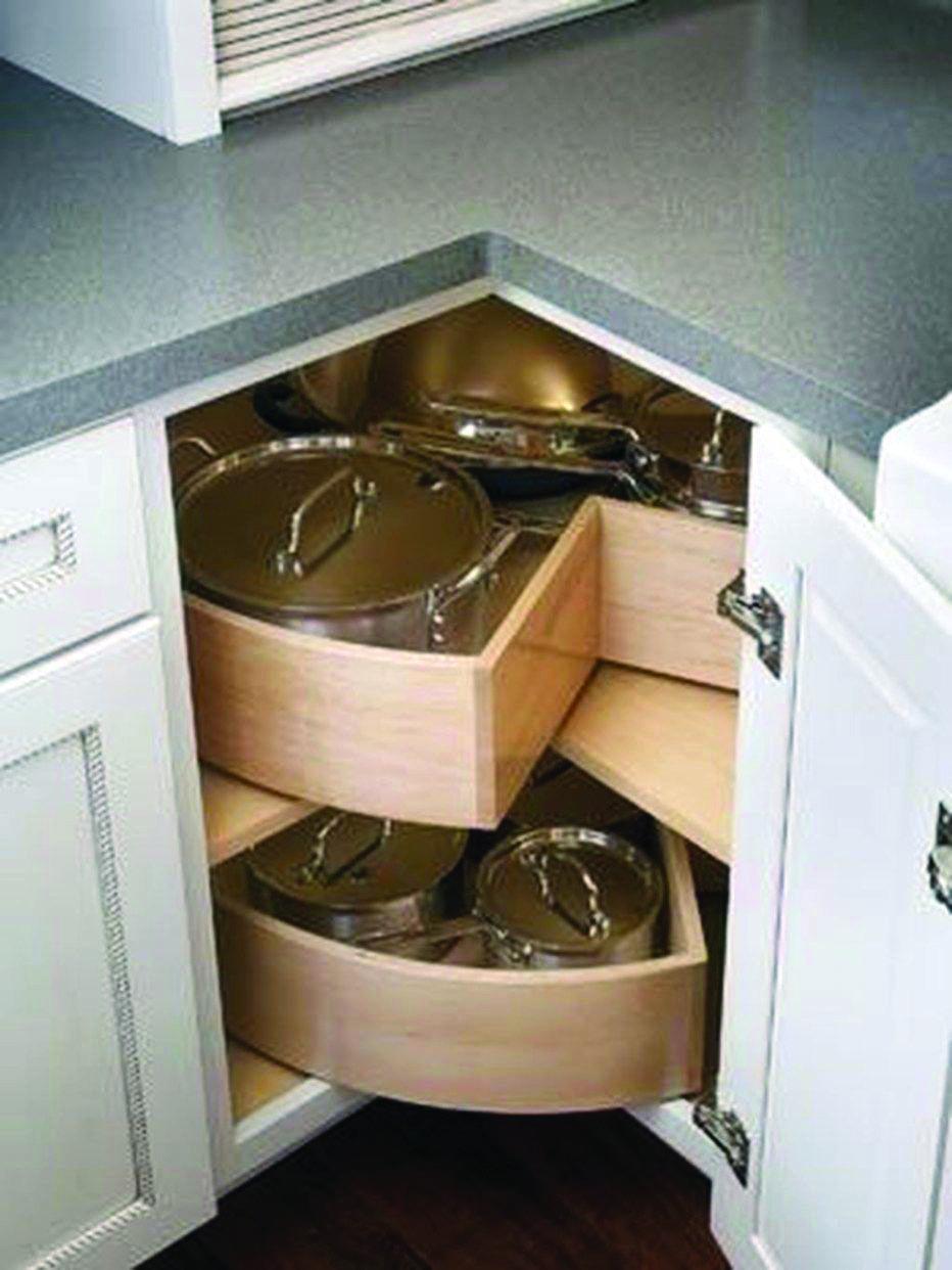 Homeeideas Com Corner Kitchen Cabinet Best Kitchen Cabinets Kitchen Design