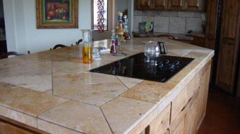 Ceramic Tile Kitchen Countertop Google Search With Images Tile Countertops Kitchen Kitchen Design Countertops Outdoor Kitchen Countertops