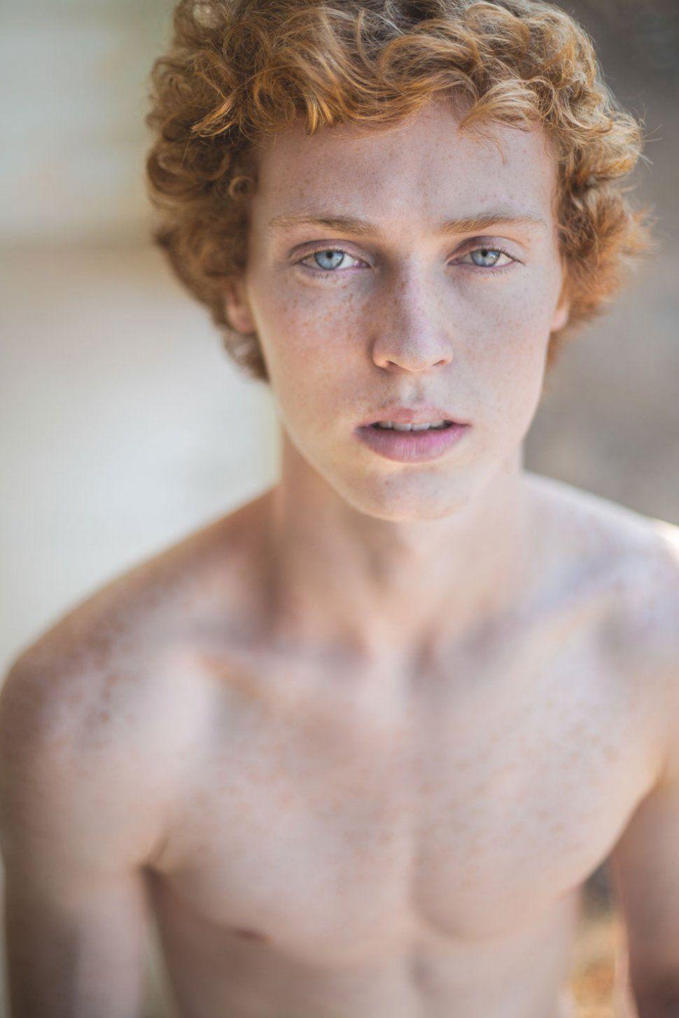 SEAN RAITNER Gray eyes, Freckles, Model