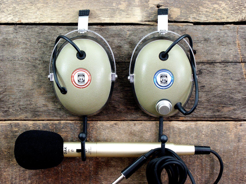 Vintage Headphone Hangers Wall Hooks Pair Of 1970 S Koss