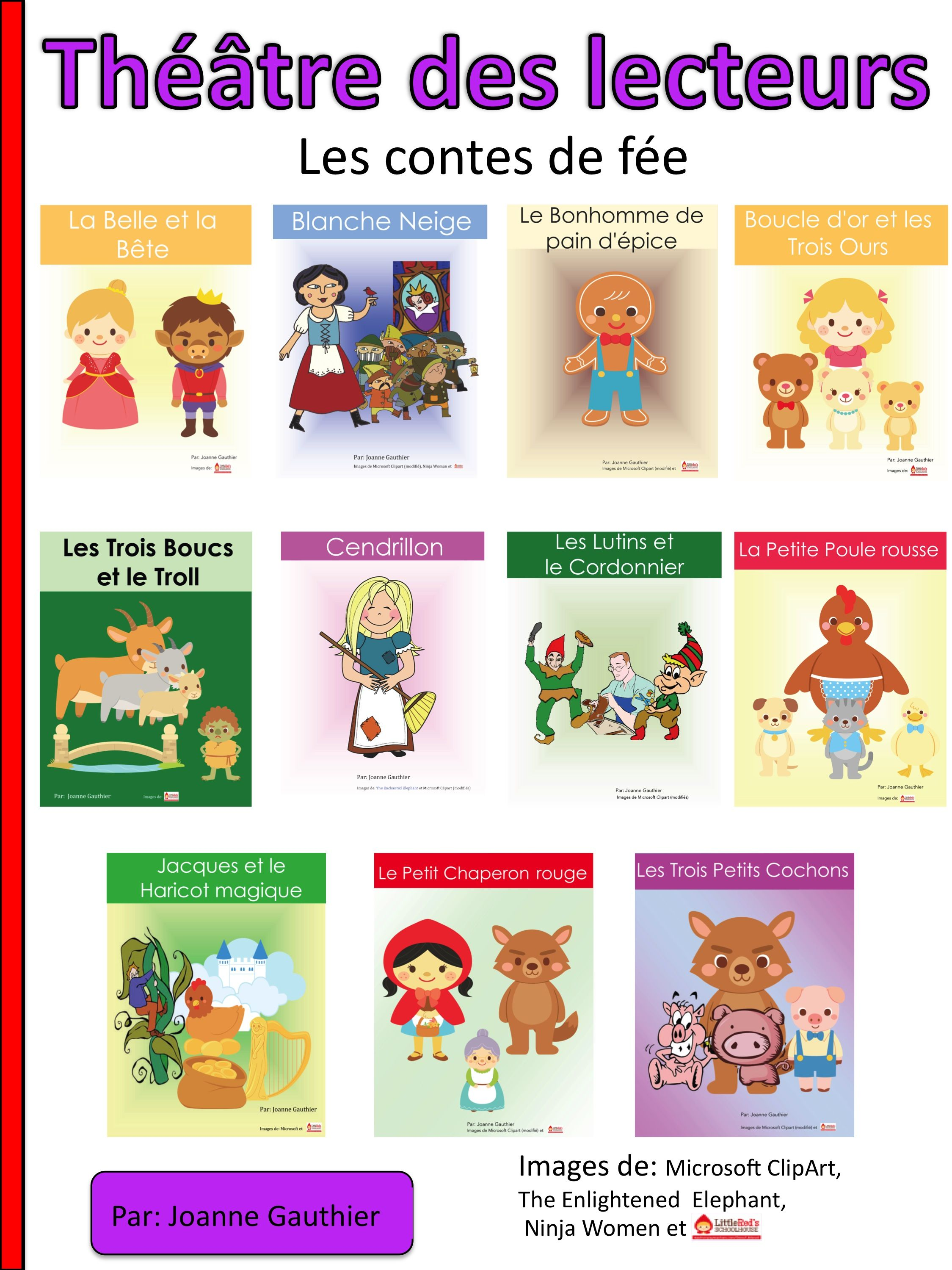 Here Are 11 Fairy Tale Readers Theatre Scripts In French To Help Young Students Have Fun While Learni Teaching French Immersion French Reader Drama Activities