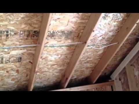 The Right Way To Insulate Attics And Cathedral Ceilings With Batts Youtube Cathedral Ceiling Insulation Cathedral Ceiling Batt Insulation