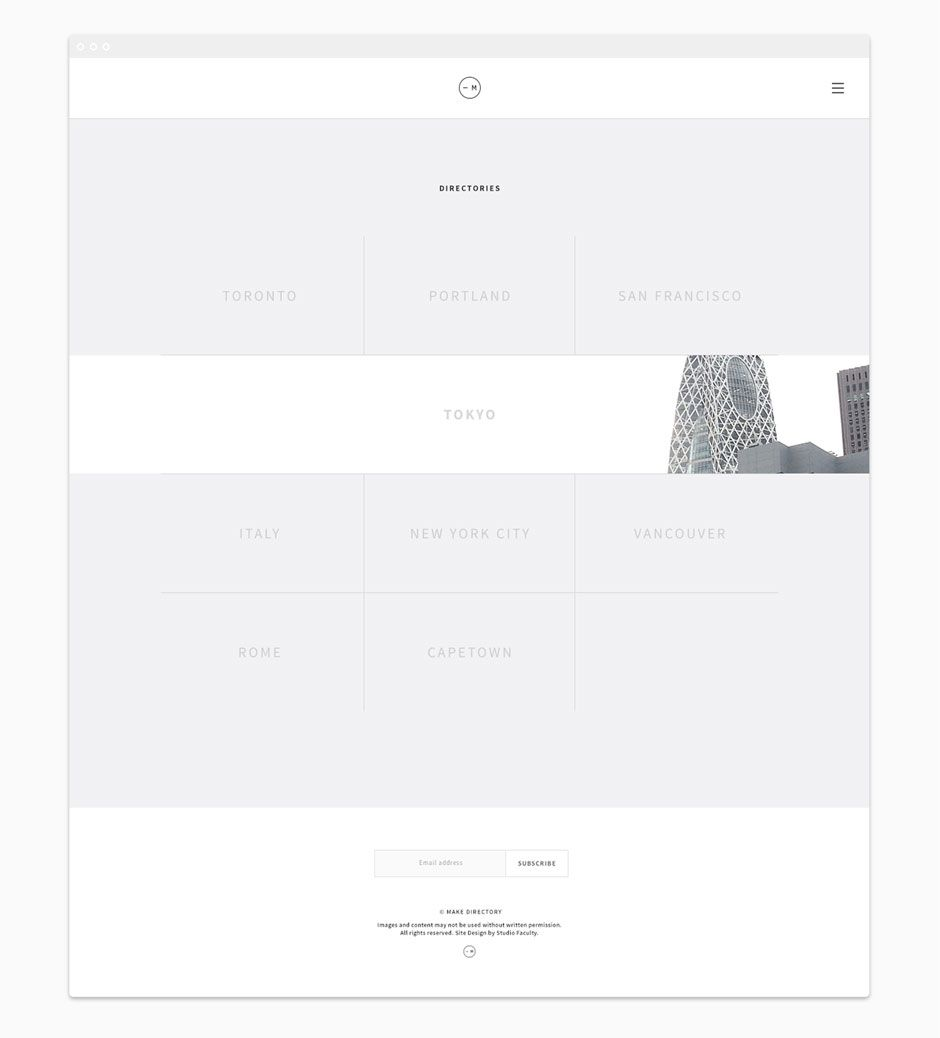 Mkdir Responsive Website Design Directory Page By Vancouver Design Studio Faculty Graphic Design Studios Web Development Design Web Ui Design