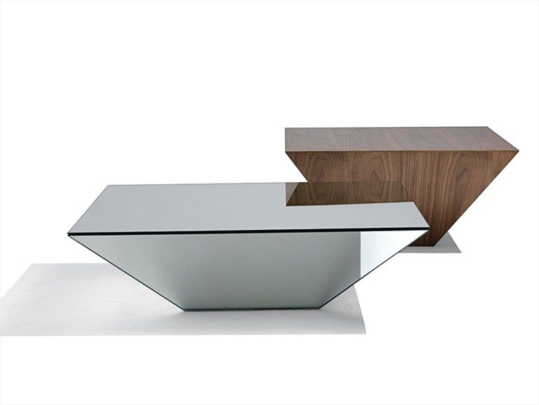 crystal coffee table pitagoracattelan italia | design giorgio