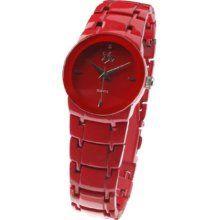 MasterDis Watch Funsani II red, Red, Uni