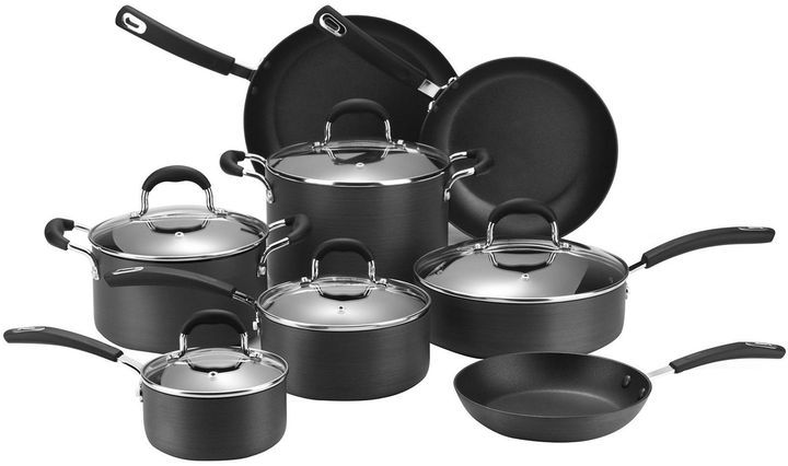 Jcpenney Cooks 13 Pc Classic Dishwasher Safe Hard Anodized