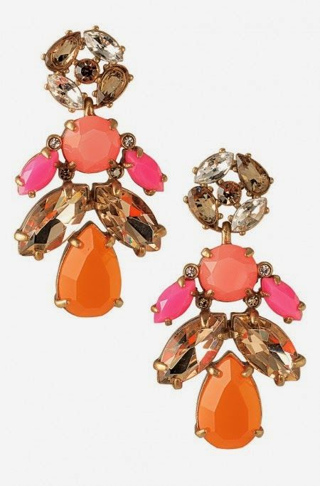Attention to Darling: SO Obsessed Sunday - August 3 Edition - Stella and Dot statement earrings that transition from chandelier to studs!