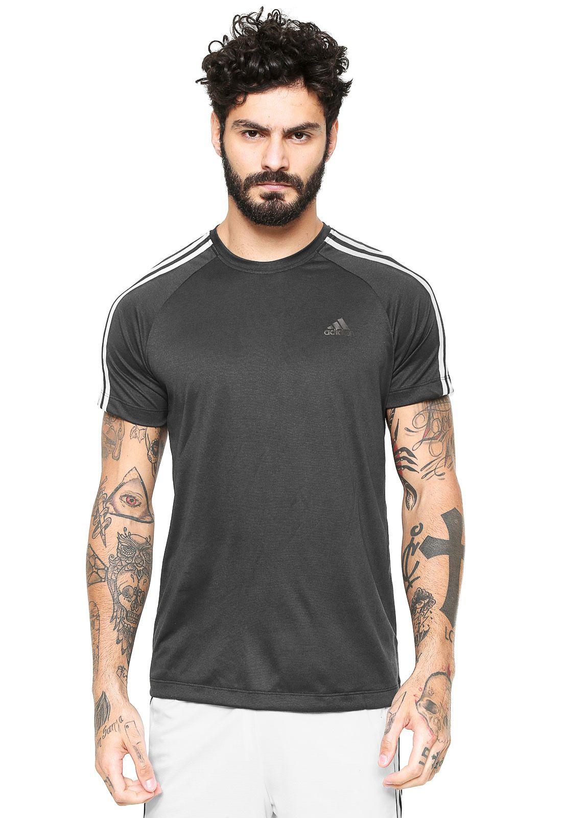 8f73a8121cb Camiseta adidas Performance ESS 3S EGB Preta - Marca adidas Performance