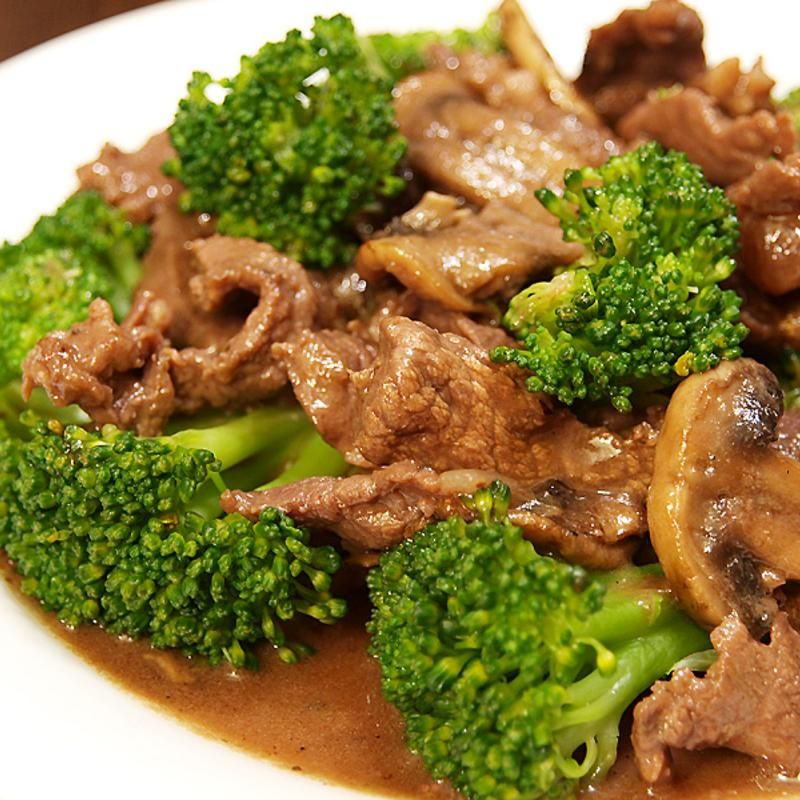 Beef With Chinese Broccoli Green Tea House Chinese