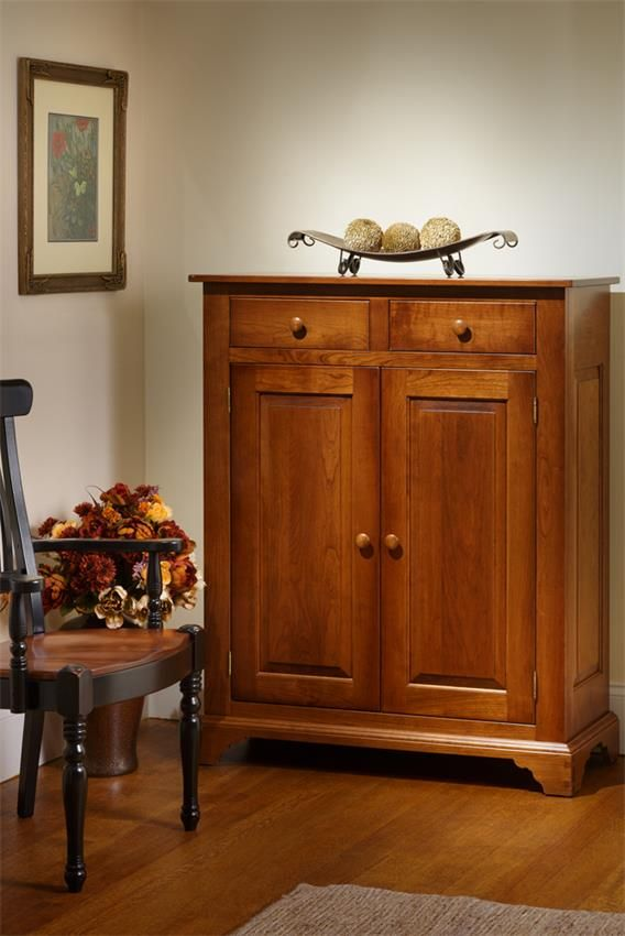 Amish Galloway Shaker Cupboard Cabinet Rustic Antique Decor Amish Furniture Jelly Cupboard