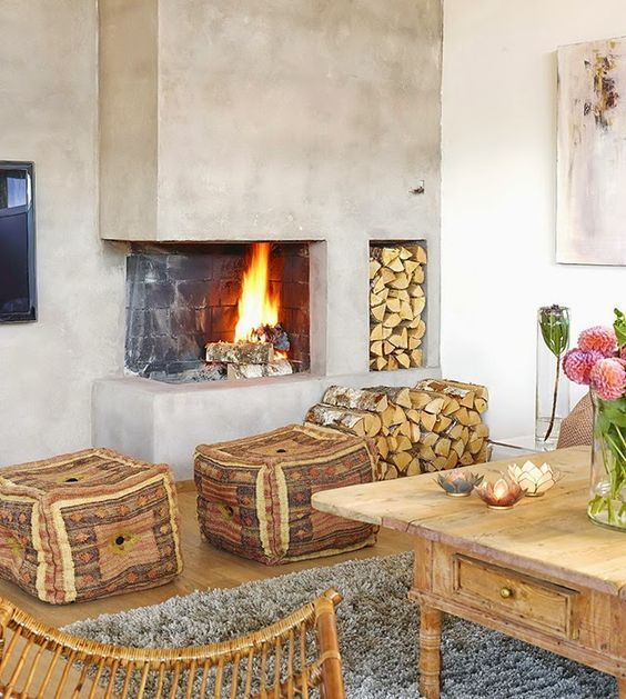 30+ Awesome Corner Fireplace Ideas For Your Living Room