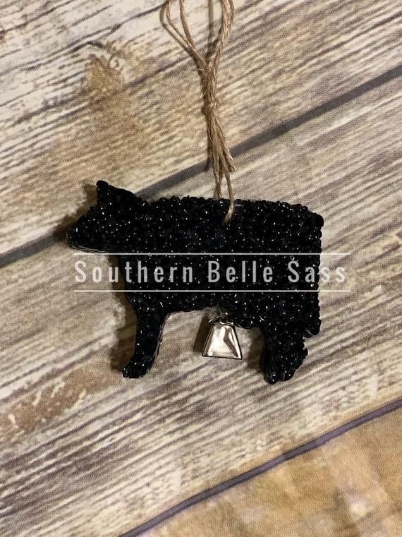 Cow with cow bell_Aroma Bead Air Freshener Car Scents