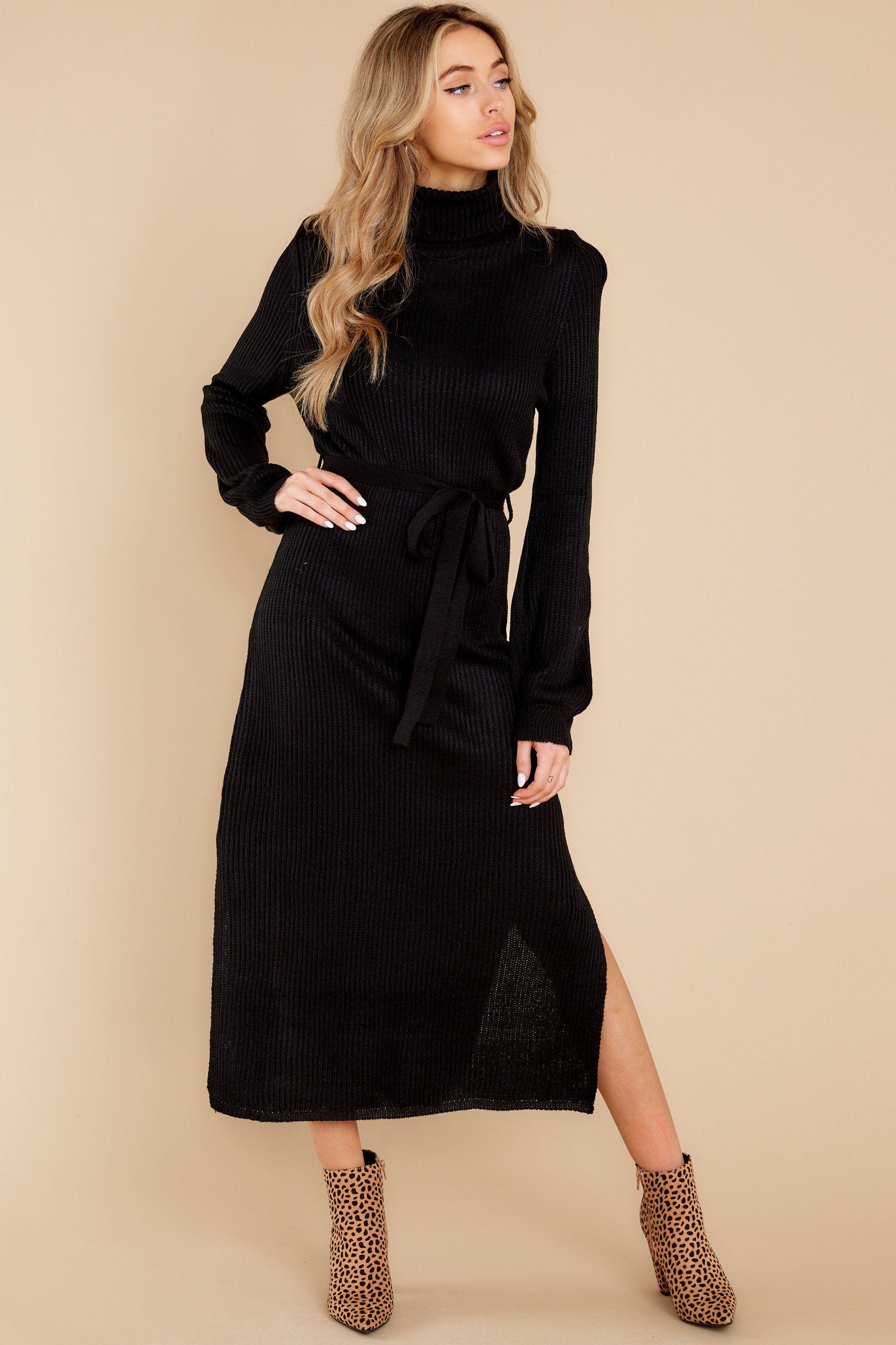 Perfect Black Sweater Dress Maxi Dresses Red Dress Maxi Knit Dress Black Knit Maxi Dress Maxi Dress [ 2738 x 1825 Pixel ]