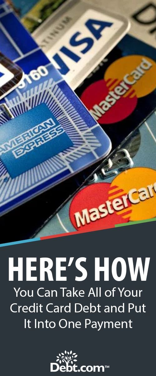 Consolidating credit card debt to one card