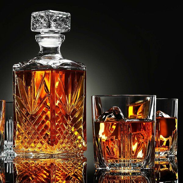 Photo of Elisabetta 7 Piece Whiskey Decanter Set
