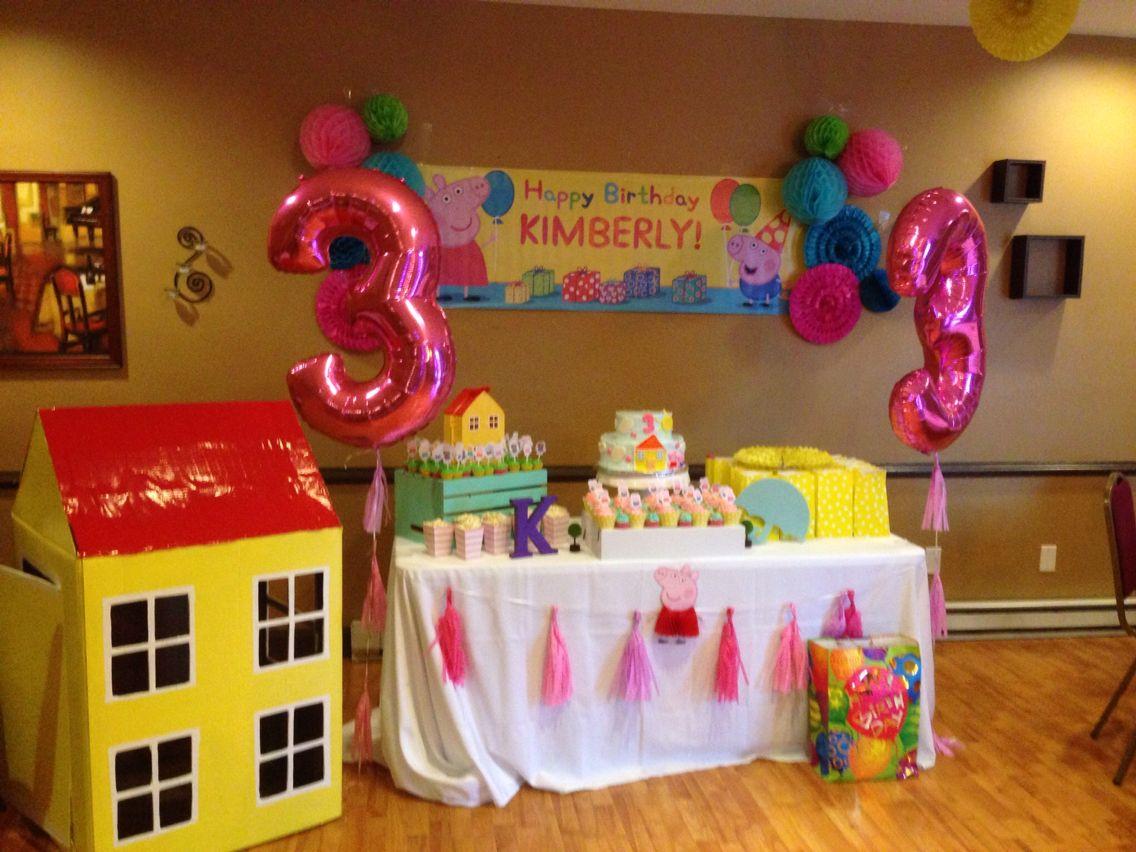 Peppa Pig 3rd Birthday