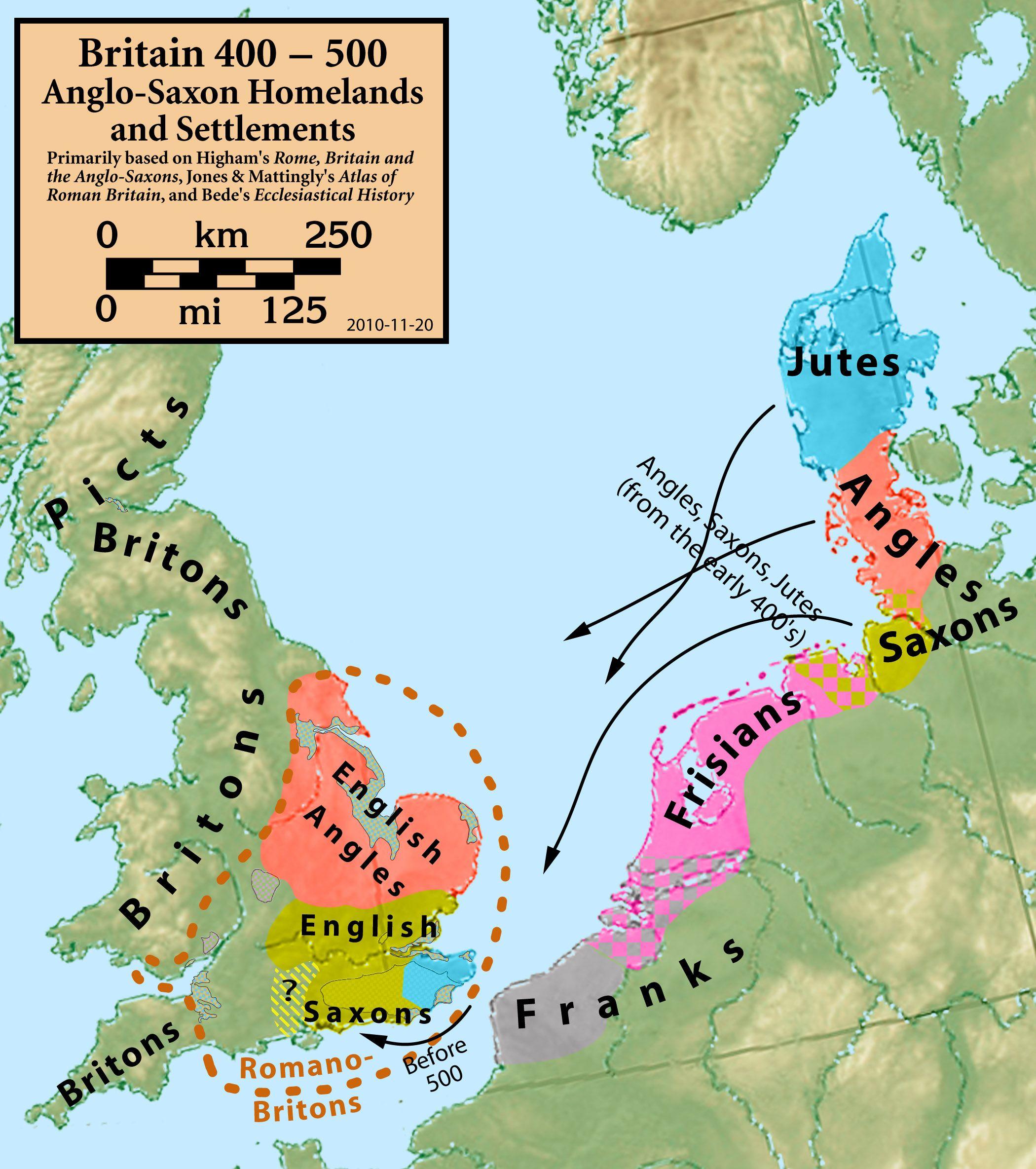 25 Maps That Explain The English Language