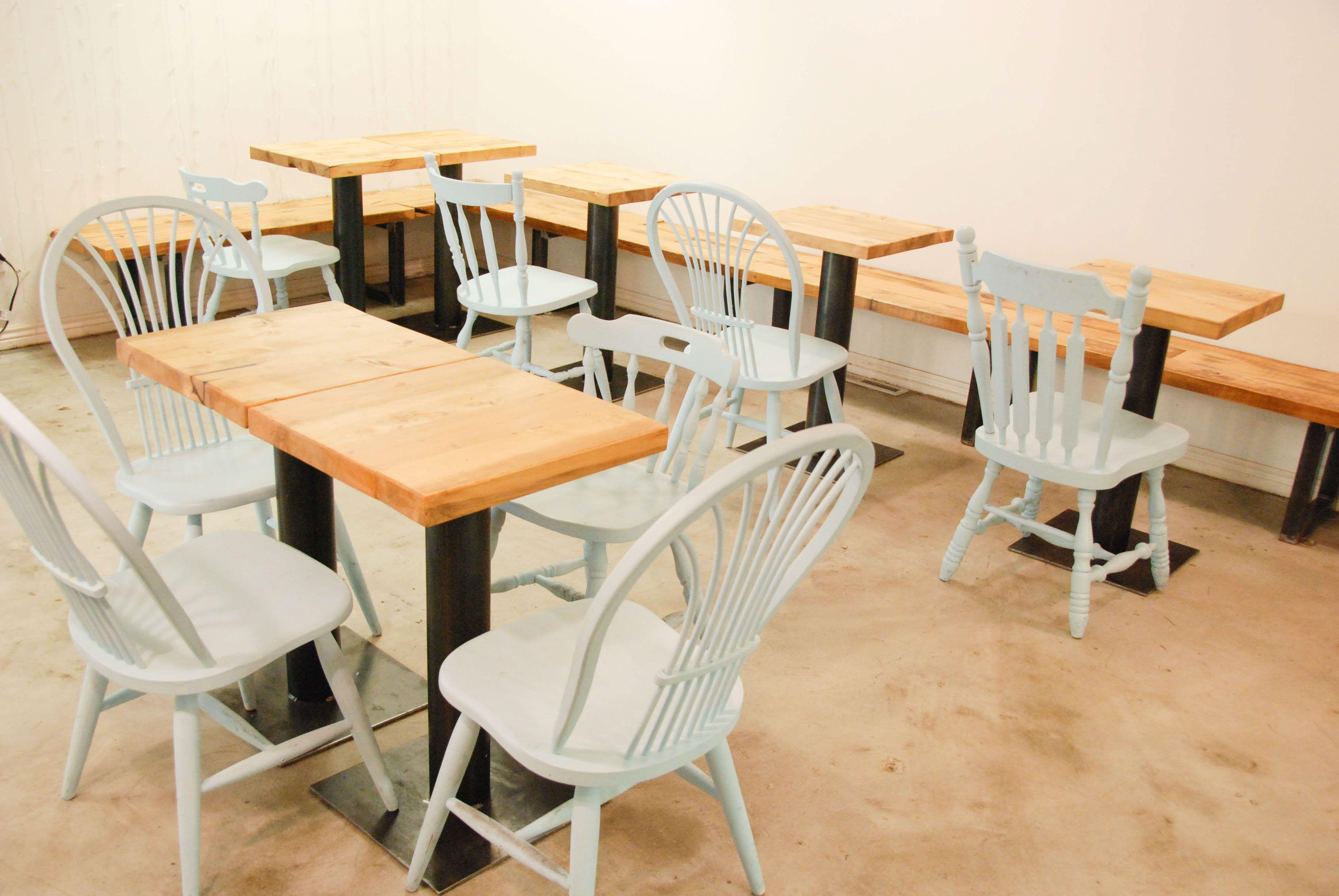 Restaurant tables Restaurant Design Custom furniture and