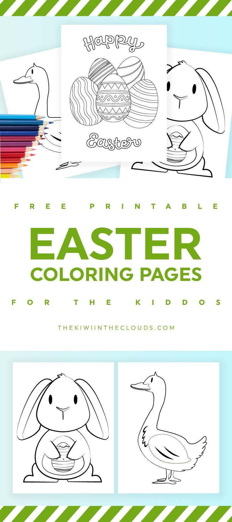 Free Easter Printable Coloring Pages You Need To Entertain The Kids ...