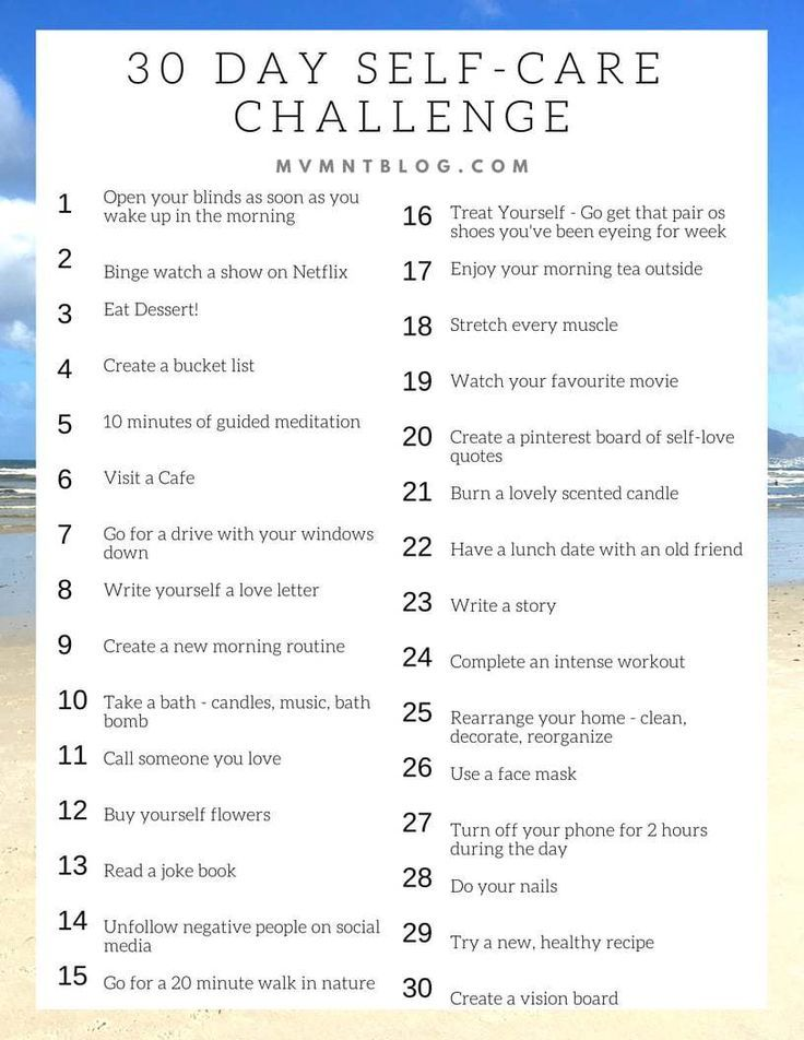 #Blog #Care #Challenge #Day #Fitness #MVMNT #Travel 30 Day Self Care Challenge - MVMNT Fitness & Tra...