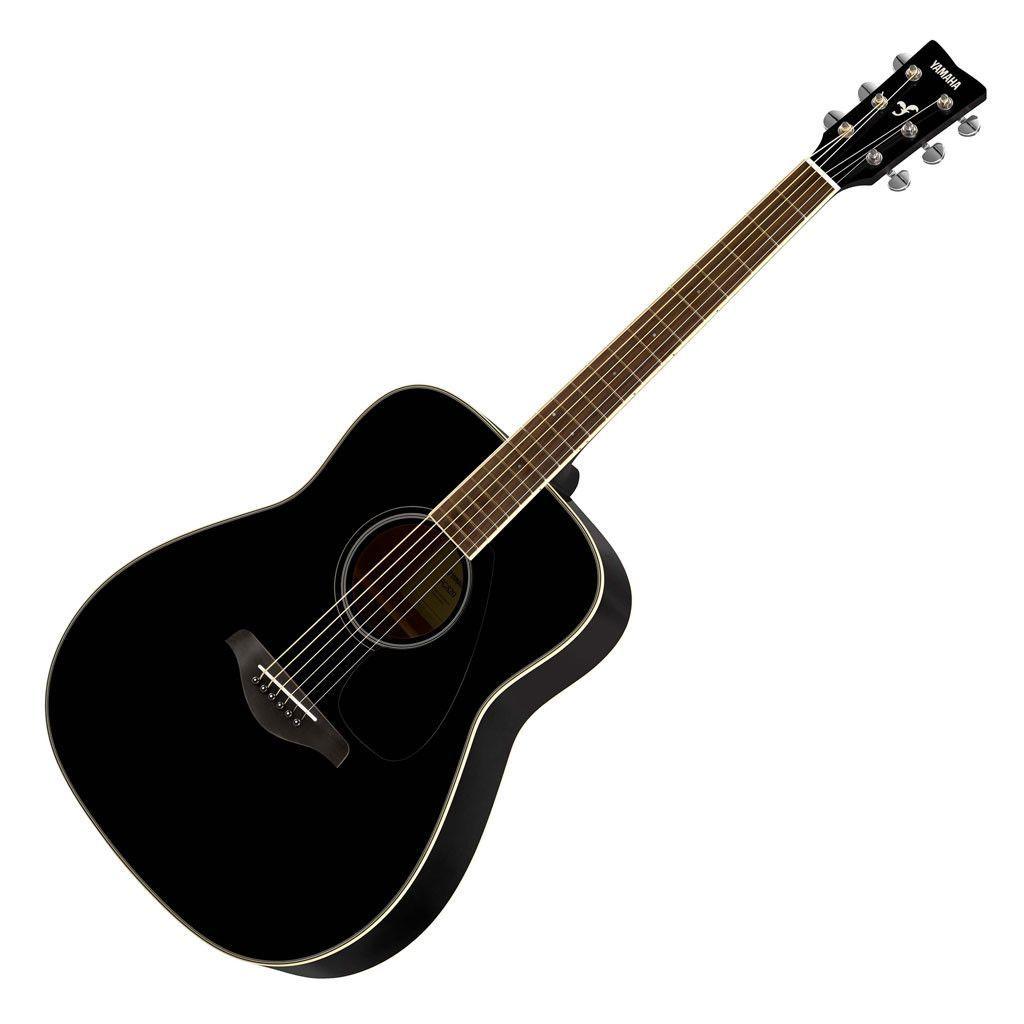 Yamaha Fg820 Folk Acoustic Guitar Black Acoustic Guitar Pictures Acoustic Guitar Yamaha Acoustic Guitar