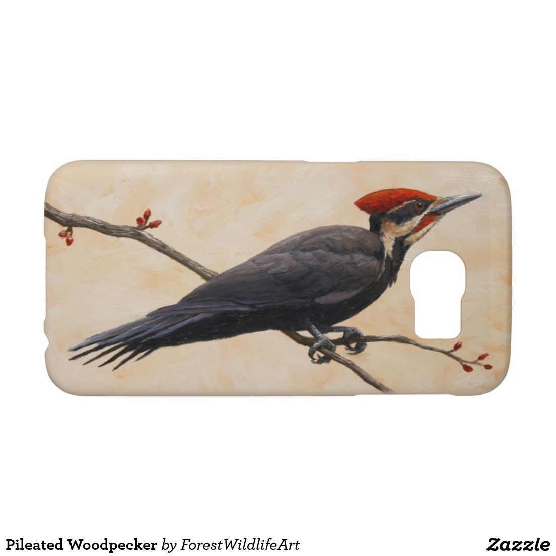 Pileated Woodpecker Samsung Galaxy S6 Cases