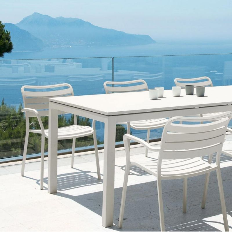 Ethimo Flat Gartentisch Ausziehbar 160 250 Cm Gartentisch