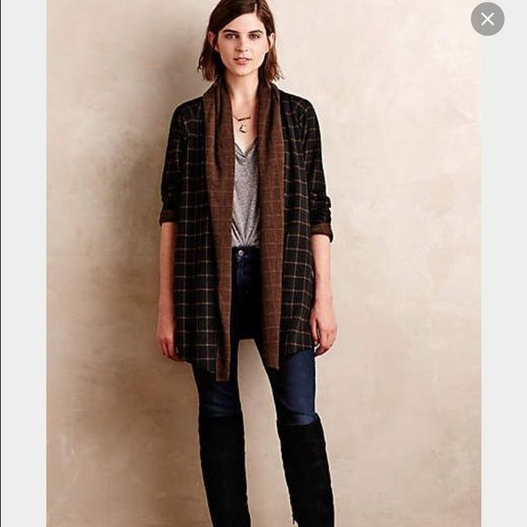 Anthropologie shawl sweater Perfect sweater/jacket from ...