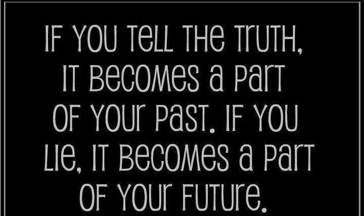 Dnt tell lie...