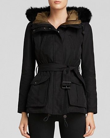 Burberry Brit Cloverdale Parka with Puffer Vest Warmer | Bloomingdale's
