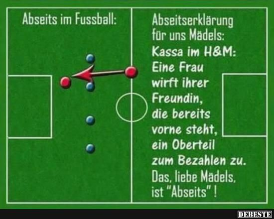 Abseits Im Fussball Lustige Bilder Sprüche Witze Echt Lustig
