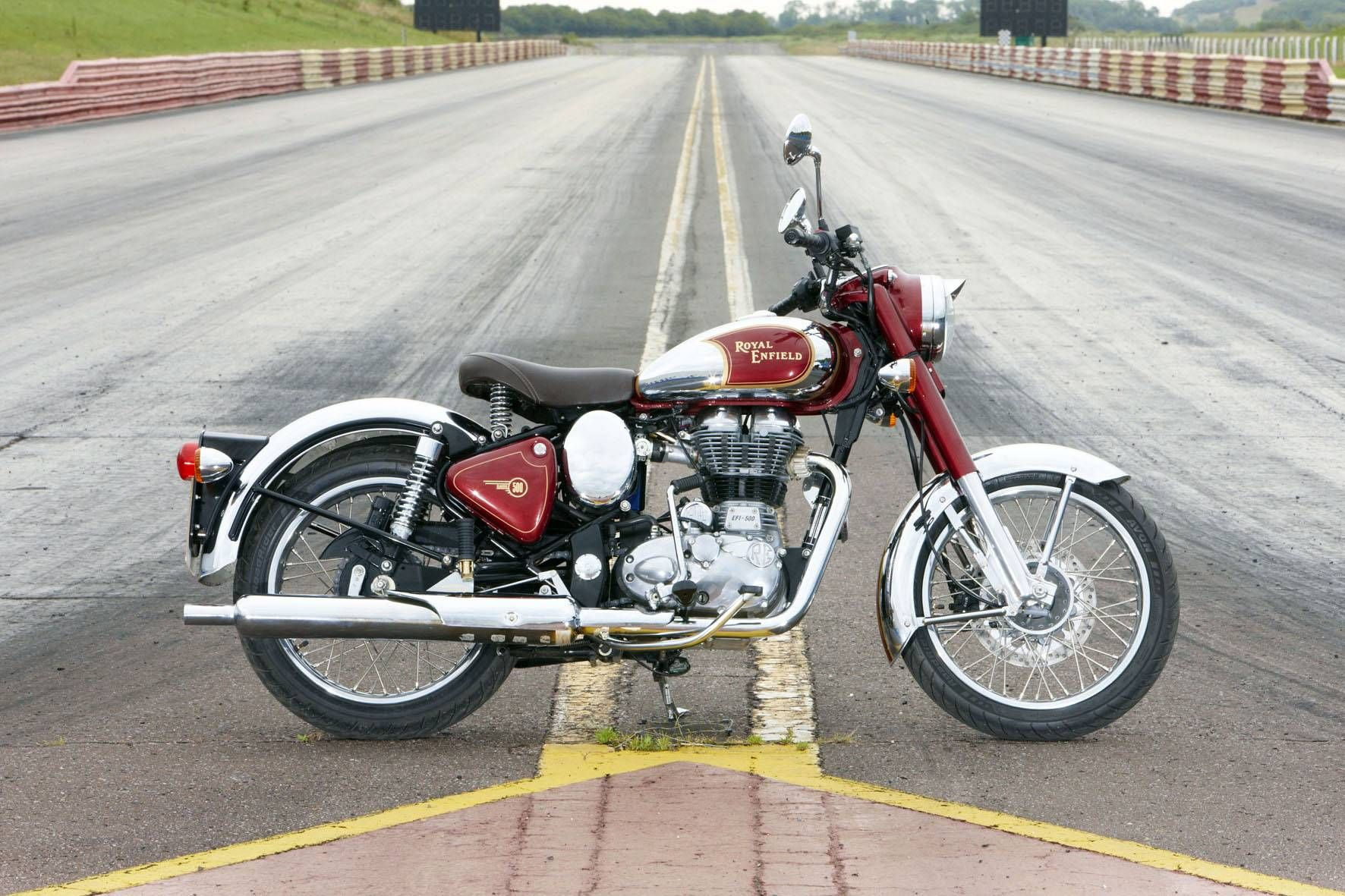 Royal Enfield Images Royal Enfield Classic 500 Chrome Is Cruiser