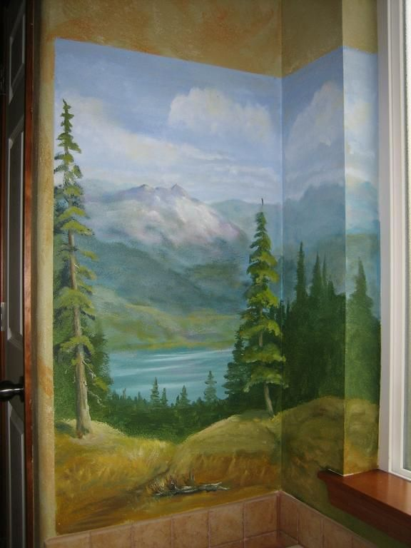 Nature Scene Murals By Melissa Barrett Paint Design Wall Murals Part 87