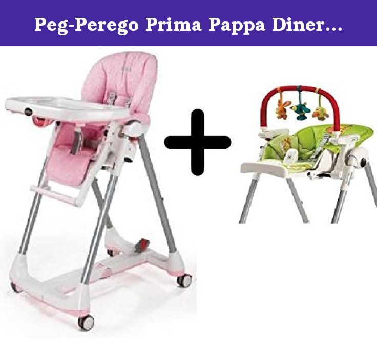 Peg Perego Prima Pappa Diner High Chair Savana Rose Peg Perego