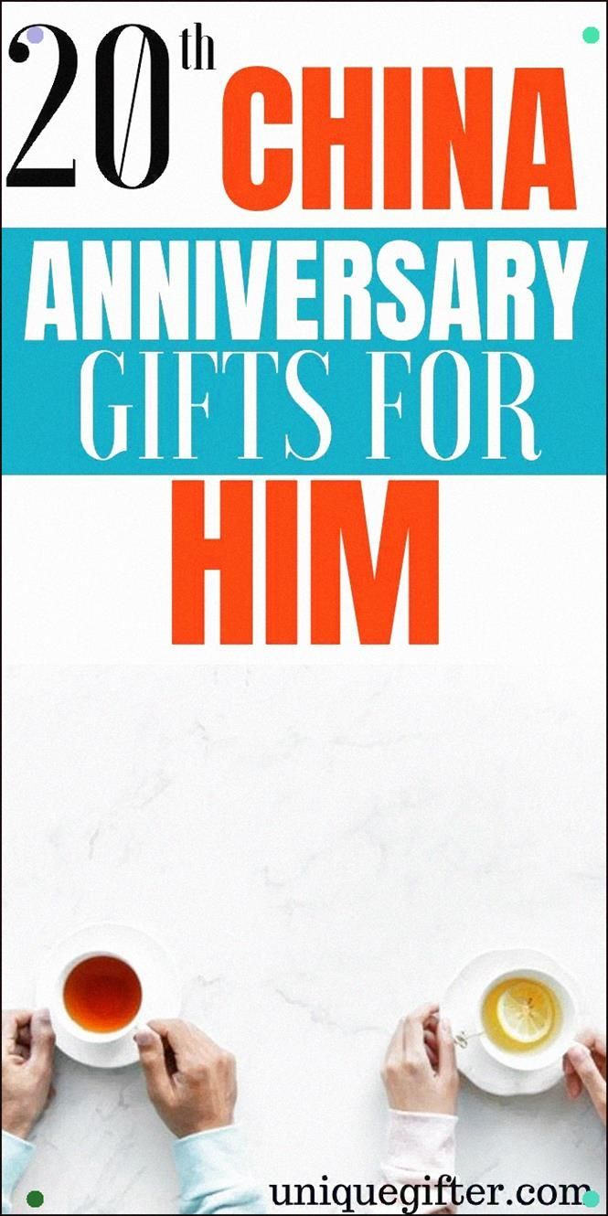 20Th China Anniversary Gifts For Him Presents For Husband