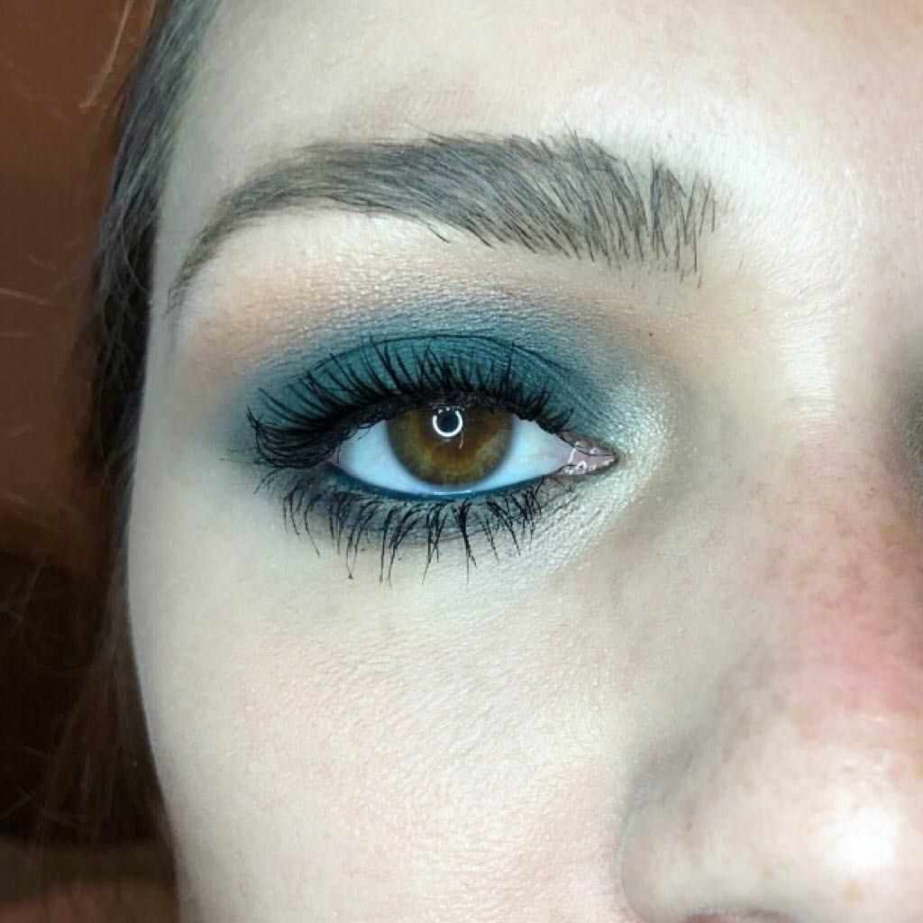 Nothing like a sultry blue smokey eye 🔹 . . . . #Makeup # ...