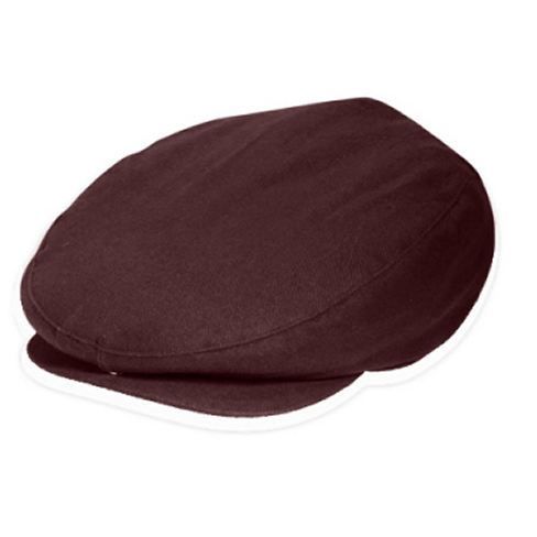 f623ab4a0d0ab Brushed Cotton Youth Newsboy Ivy Hat - Burgundy at DapperLads ...