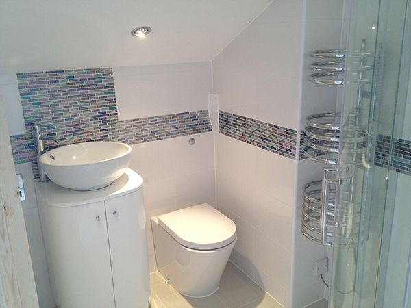 En Suite Installation Leeds Fully Tiled Bathroom Bathroom Installation Small Bathroom