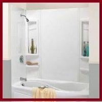 replace a tub surround | bathtub shower combo, bathtub