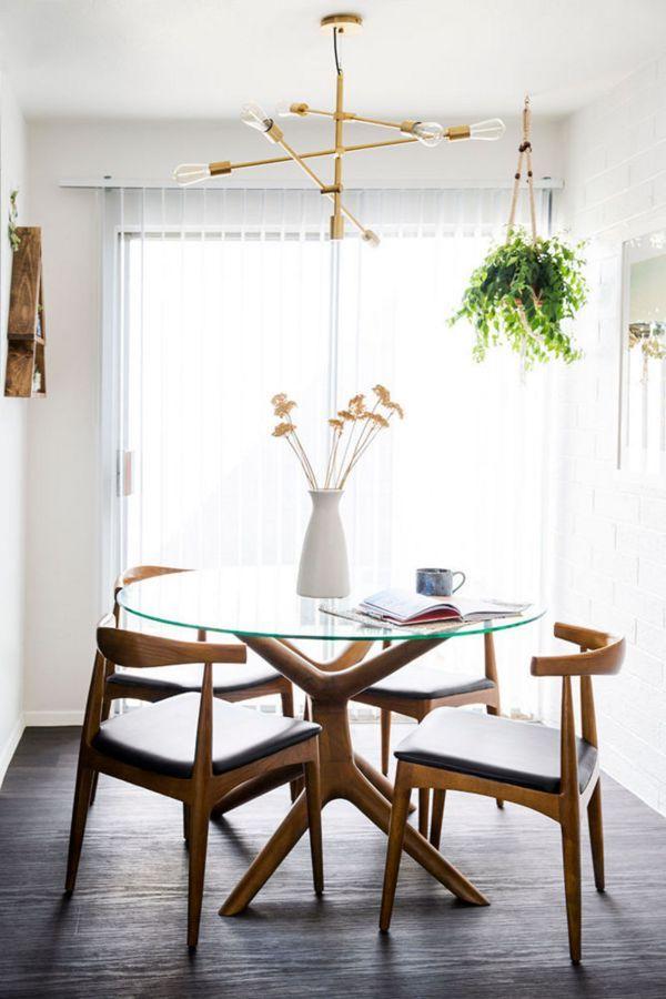 Glass Dining Table Midcentury Modern Mid Century Modern Dining