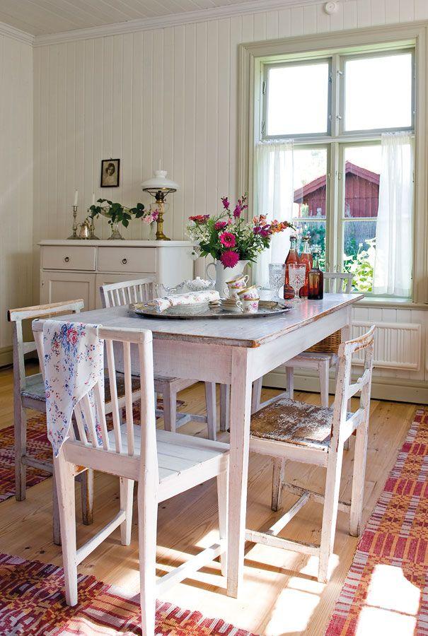 El piso original de la cocina comedor no pudo ser preservado y se ...