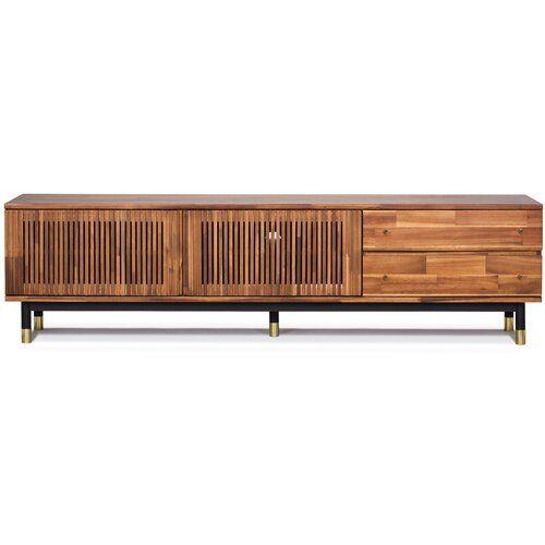 Camryn Solid Wood 2 Door Accent Cabinet In 2021 Tv Stand Wood Solid Wood Tv Stand Tv Stand Tv stand real wood