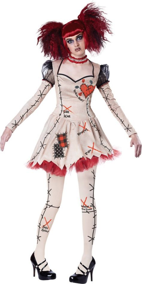 adult voodoo doll costume party city - City Party Halloween Costumes