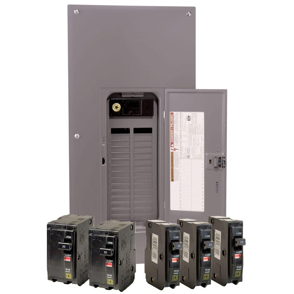 Siemen 200-Amp 30-Space 40-Circuit Home Indoor Main-Breaker-Box Electrical Panel