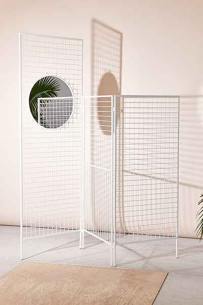 Layered Lines Screen Room Divider / UO / $149