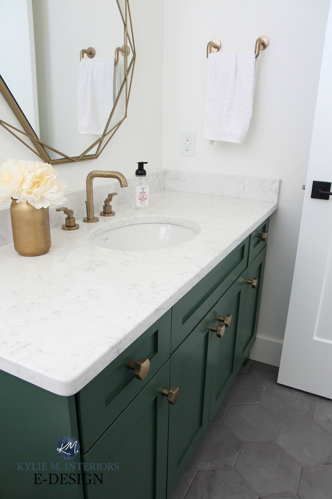 the 6 best paint colours for a bathroom vanity  including