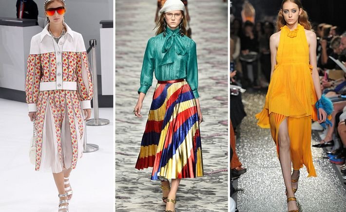 PRETTY PLEATS. 5 of the hottest spring trends