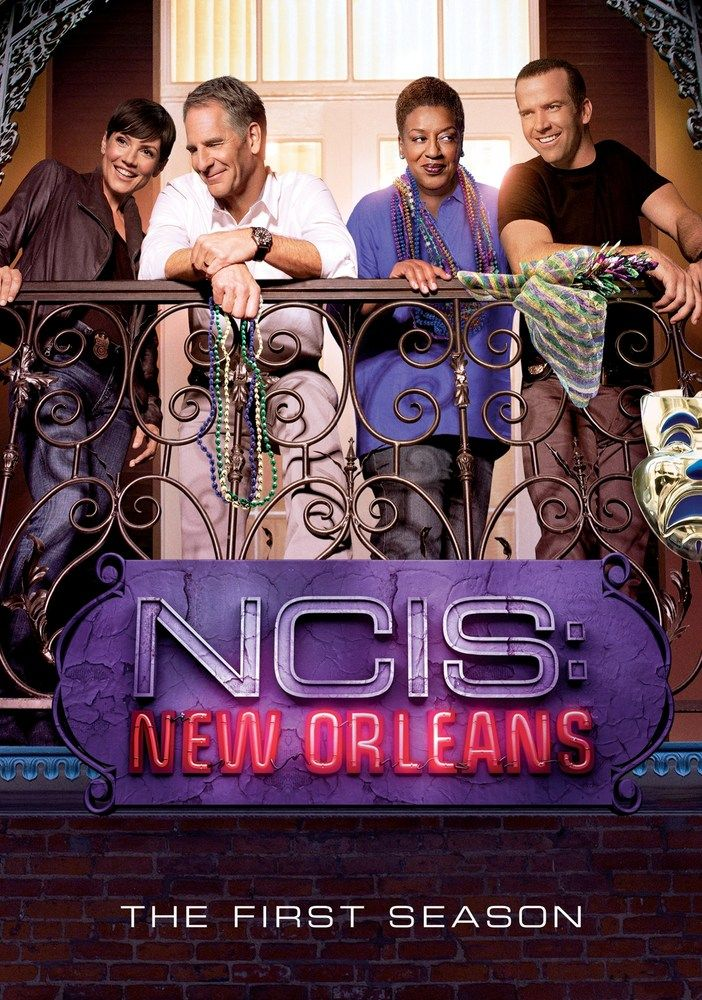 Ncis New Orleans The First Season 6 Discs Dvd Ncis New