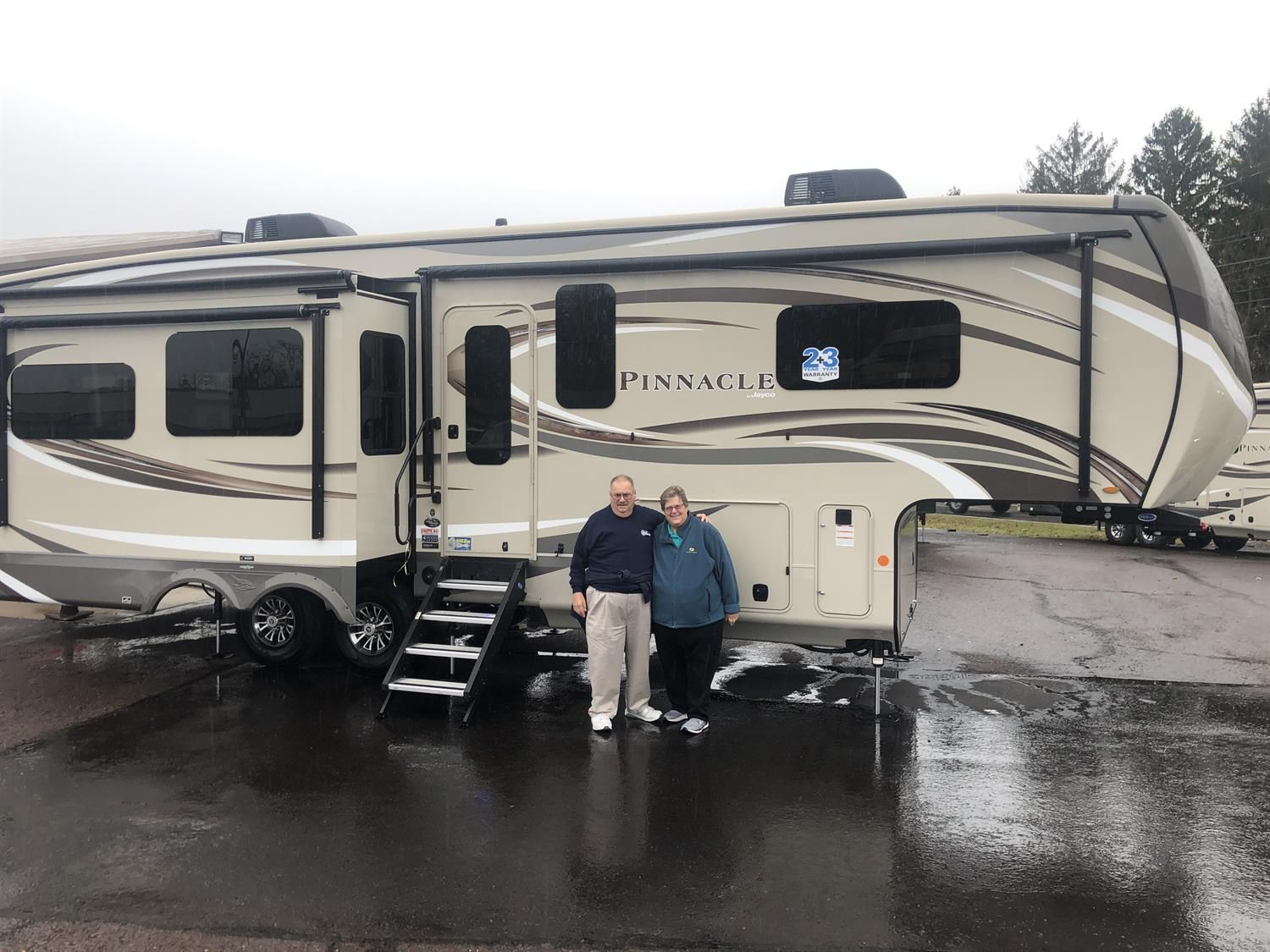 Daniel And Carol You Re Off To New Exciting Places Congratulations On Your New 2020 Jayco Pinnacle Thank You Again Fo Jayco Recreational Vehicles Vehicles